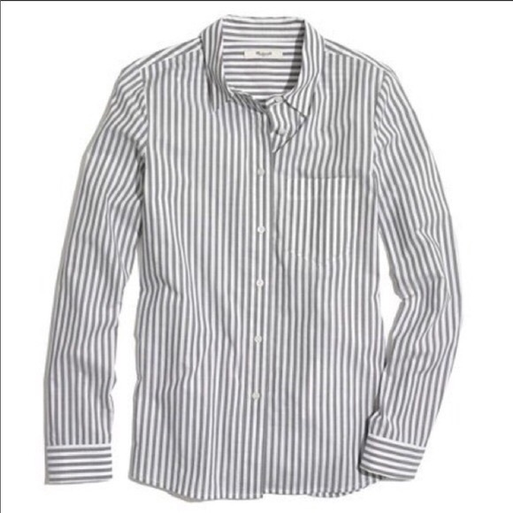 ⭐️3 FOR $20⭐️ Madewell Cafe Stripe Button Down